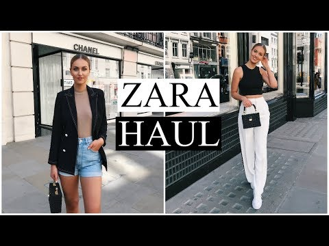HUGE ZARA HAUL | SPRING/SUMMER TRY ON | MAY 2018