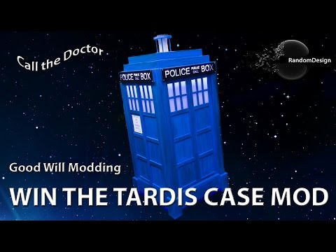 Doctor Who - TARDIS Case Mod Goes Charity