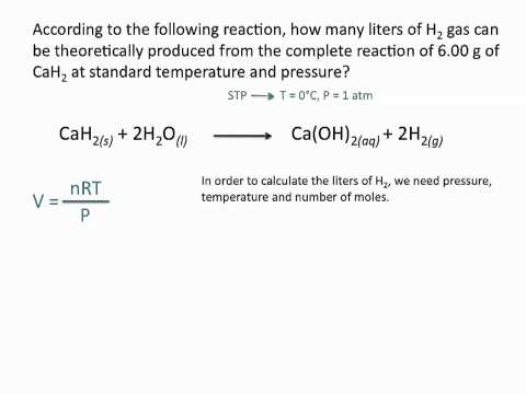 Ideal Gas Law - Chemistry Tutorial