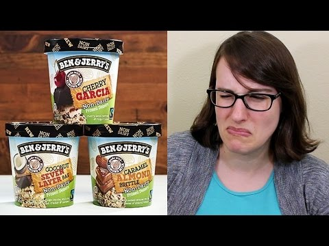 Ben & Jerry's New Vegan Flavors! (Cherry Garcia, Caramel Almond Brittle, & Coconut Seven Layer Bar)