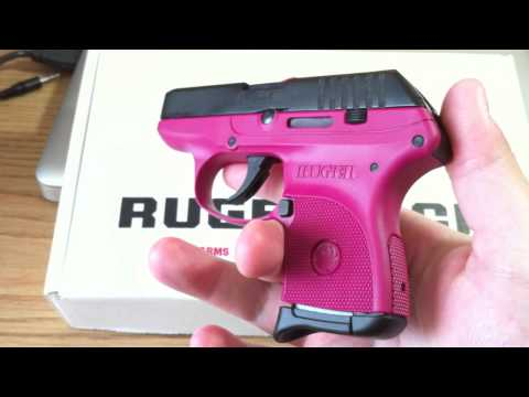 Ruger Lcp 380 Pistol With Crimson Laser At The Range Ruger Lcp