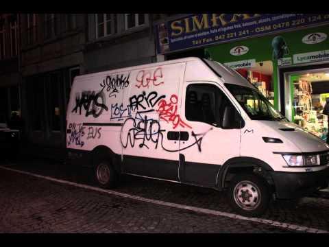Graffiti on Trucks (Graffiti busjes)