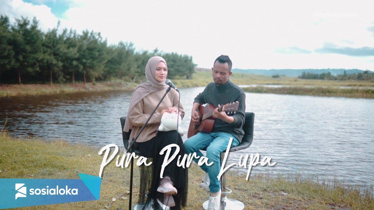 PURA PURA LUPA - MAHEN ( Ipank Yuniar ft. Sanathanias Cover & Lirik )