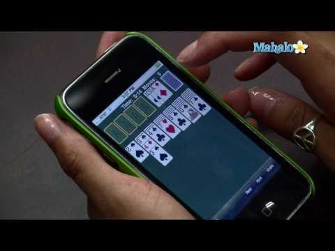 How to Play Solitaire on the iPhone