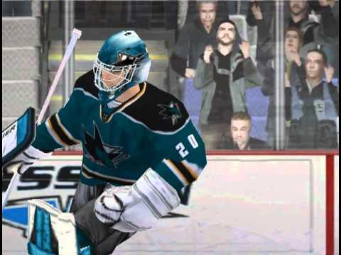 NHL 09 Gól s brankářem! ...Nabokov