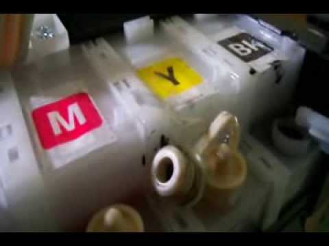 How To Refill Ink Epson Printer L110