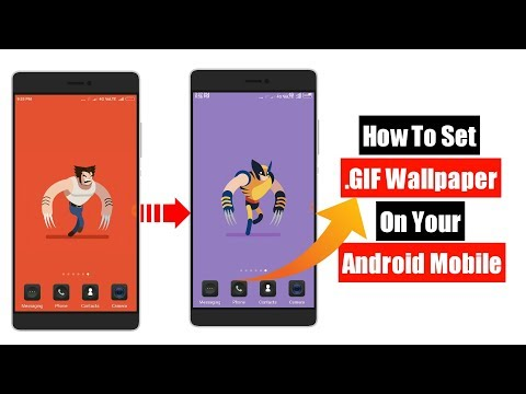 How to Set Gifs as Wallpaper and Lock Screen For Android mobile