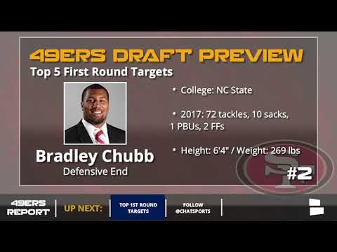 Top 5 49ers First Round Targets - 2018 NFL Draft