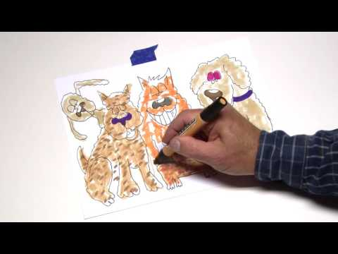 A doddle to celebrate mixed-breed dogs on National Mutt Day. December 2nd, 2016