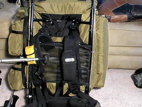 Large Frame Backpacks:  Kelty Super Tioga Part 1