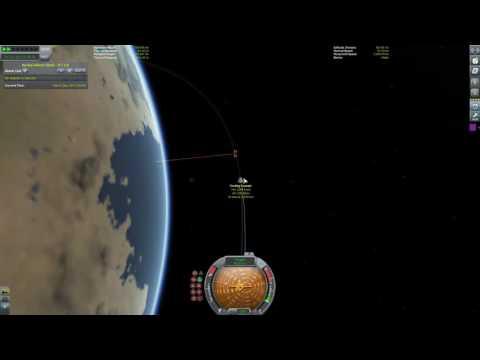 Docking tutorial - Kerbal Space Program (stock + alignment mod)