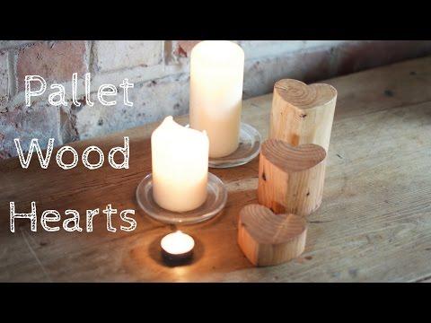 Valentines Wooden Heart Decoration