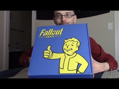 Leninhawk's Unboxing: Fallout Crate #1 (Lootcrate Jan 2018)