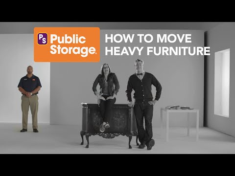 Public Storage: How to Easily Move Heavy Furniture
