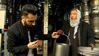 Download بامداد خوش - خیابان - دیدار سمیر صدیقی از یک حلبی سازی در منطقه کوتی سنگی شهر کابل Video