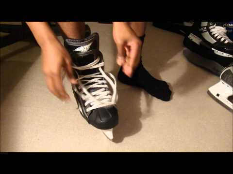 How Ice Hockey Skates Should Fit - Find out how to check your size & width is right