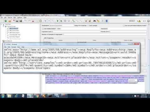 Publisher Subscriber JMS Test Plan