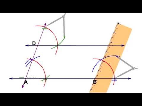 Parallelogram Compass Construction 1 of 5
