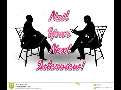 How to NAIL Your Next Interview!! Top 10 Tips!