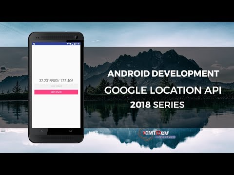 Android Development Tutorial - Google Location API Newest