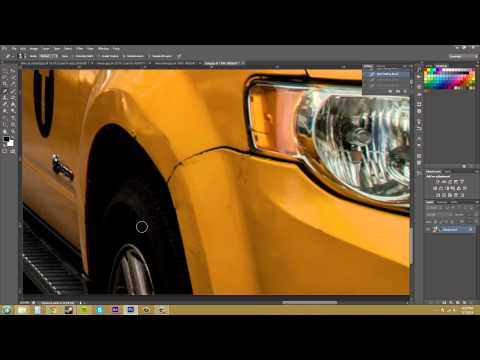 Photoshop CS6 Tutorial - 44 - Cleaning Up Dirt and Scratches