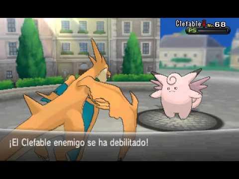 Batalla contra Serena y Mega-Absol en Ciudad Batik - Pokémon X/Y