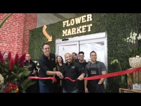 Miami Flower Market Grand Opening