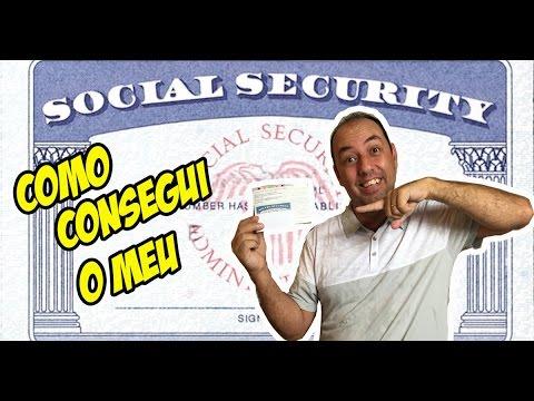 Social Security - como consegui o meu