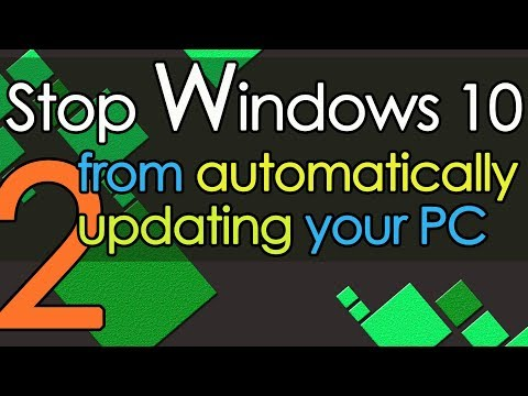 Stop Windows 10 from automatically updating your PC method 2