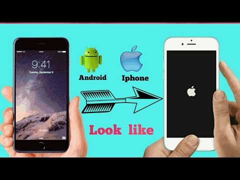 How to change any android into apple iPhone (No Root)