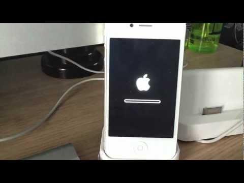 Update to IOS 6.1 through iTunes