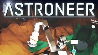 Astroneer - 1 0 - CONTINUING THE NEW SOLO GAME - STRANDED ON