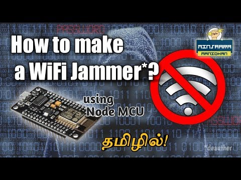 How to make a WiFi jammer/deauther ? || தமிழில்!