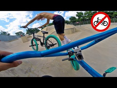 BEST NYC SKATEPARKS YOU CAN'T RIDE (BMX)