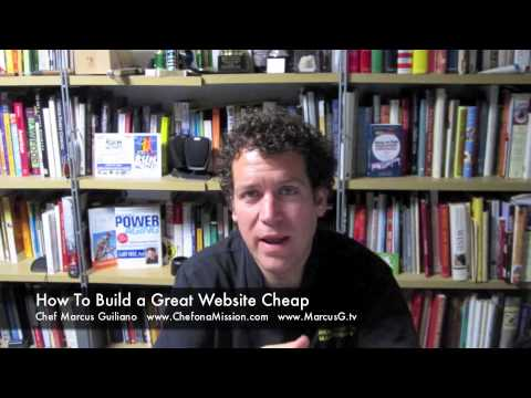 How To Build A Great Website on the Cheap