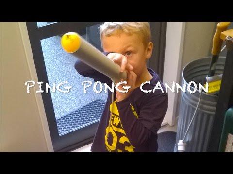 Ping Pong Ball Air Canon
