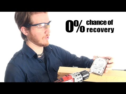 How to properly destroy a hard drive - Tip Tuesday: Episode #006