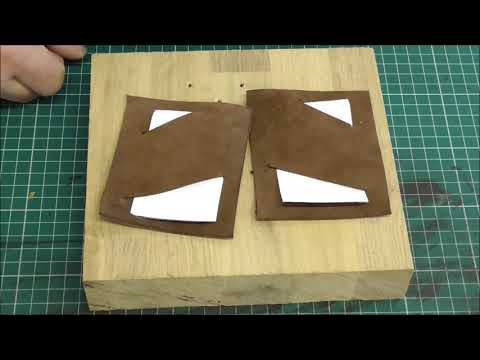 How to make a simple leather wallet