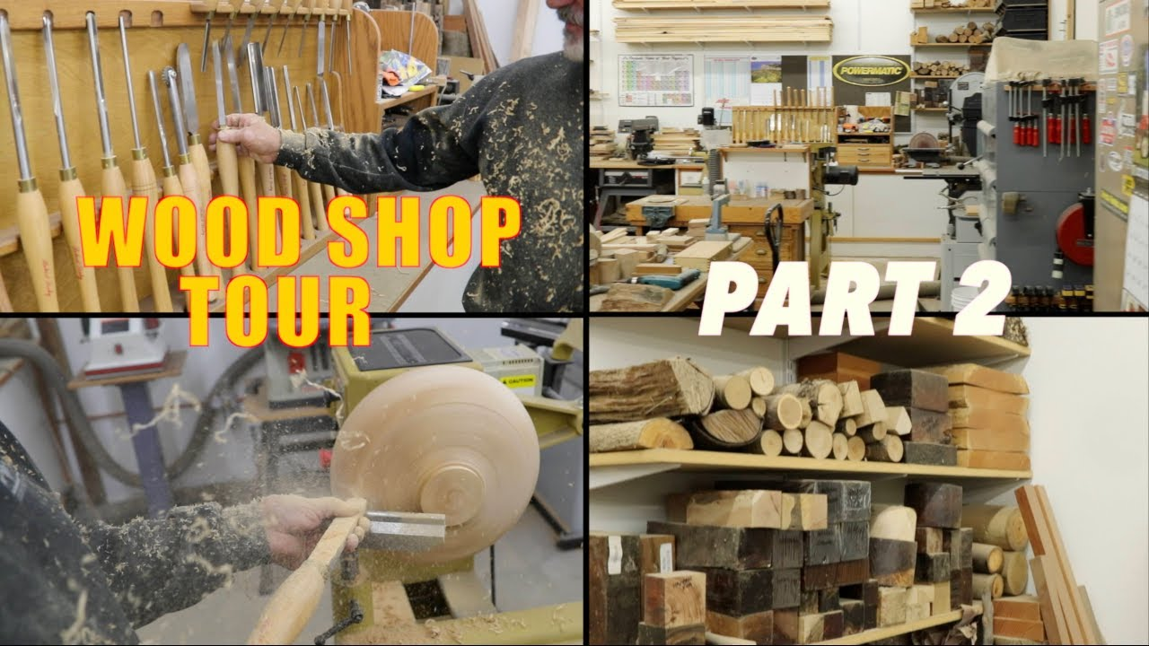 Mind-blowing! Wood Shop Tool Collection Tour Part 2