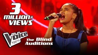 Hanna Shafa | Chakithaya (චකිතය) Blind Auditions | The Voice Teens Sri Lanka