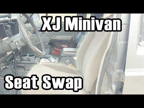 XJ Custom Minivan Seat Swap