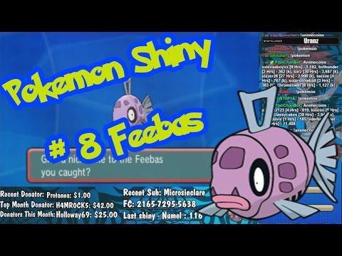 Live Shiny Feebas 116 ChainFish - Pokemon Omega Ruby & Alpha Sapphire