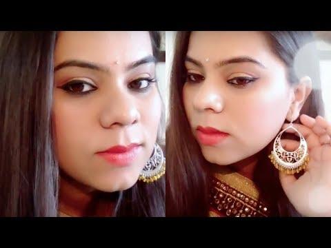 Indian Festival Makeup in Hindi: Lohri/Makar Sakranti Special (2018)