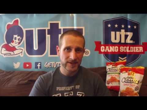 Utz Quality Foods Review #17 Smokin Sweet Barbecue Kettle Classic & Reduced Fat Potato Chip!