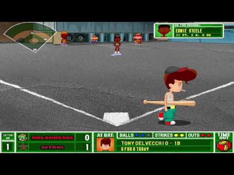 Backyard Baseball 2001 - Melonheads vs Astros (CoC)