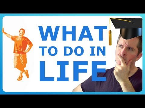 WHAT TO DO WITH YOUR LIFE! How to decide what you want to do in life! :)