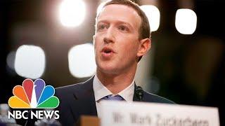 Facebook CEO Mark Zuckerberg Testifies At European Parliament | NBC News