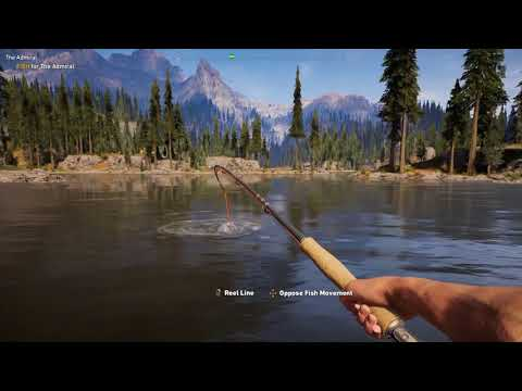 How To Catch The Admiral Fish in Far Cry 5