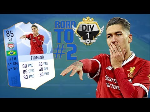 TOTGS FIRMINO - FIFA 18 | Road to Division One (RTG) #2