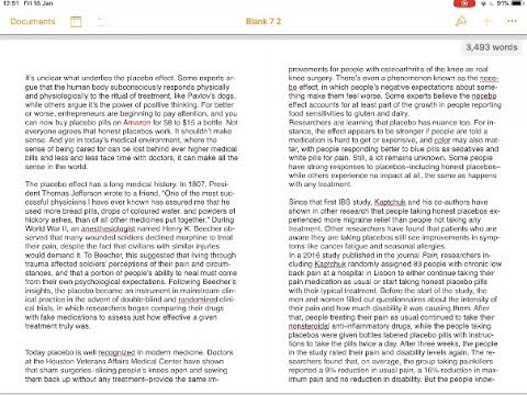 How to See Two Pages of a Pages Document Open Side by Side on iPad